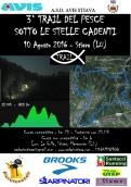Trail del pesce (in notturna)