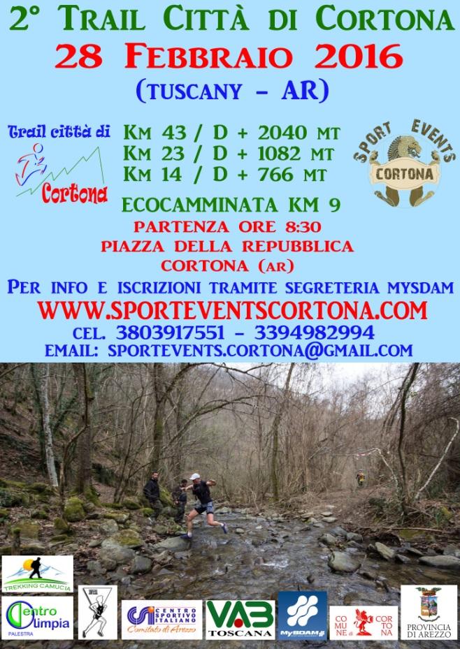 Trail citta' di Cortona