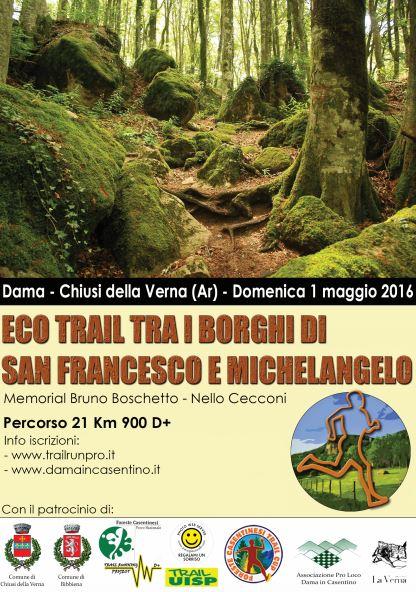 Eco Trail tra i Borghi di San Francesco e Michelangelo