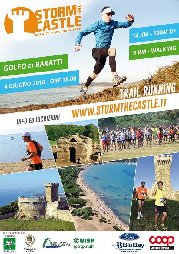 STORM THE CASTLE Baratti - Populonia Trail
