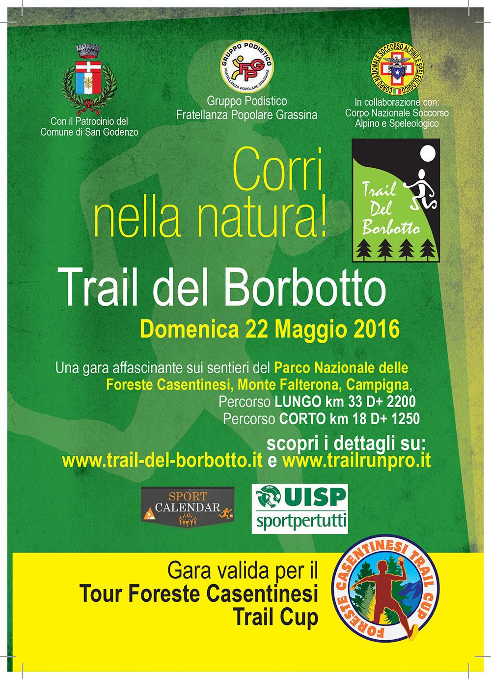 Trail del Borbotto (33 km)